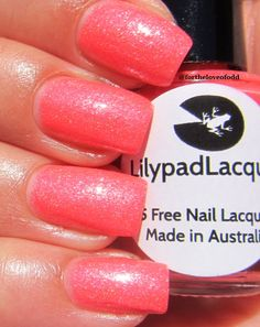 Lilypad Lacquer Tarty Tangerine