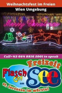 Weihnachtsfest im Freien Wien Umgebung #Eventlocation #Kindergeburtstagsfeiern #FlaschCity #flaschcityevents #christmas #christmastree #christmastime #christmasgift #christmasparty #christmaseve #christmaspresent #christmasspirit #christmaspresents #christmascard #christmasmarket #christmascountdown #christmascards #christmasmood #ChristmasDay #christmasdecoration#EventlocationimFreien #EventlocationimWald Neon Signs, Birthday Celebrations, Environment, Outdoor, Kids