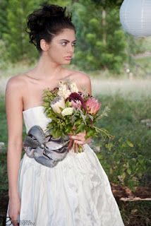 Rustic bouquet created by Green & Bloom - www.greenandbloom.com