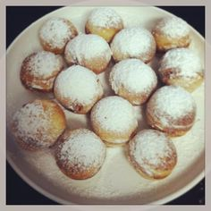 Yummy. This has been the best recipe for æbleskiver I could find. No buttermilk.