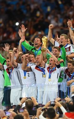 Germany is the only European team to become world champion in America