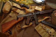 Thompson Submachine Gun | Thompson Sub Machine Gun