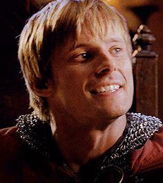 Arthur & Merlin + the neckerchief flip (gif set)