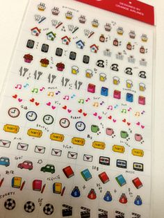 tiny sticker for your schedule planner by KawaiiTokyo on Etsy, $4.20