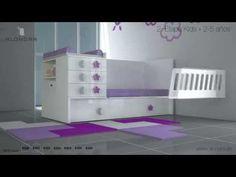 Cuna convertible barata disponible en el Outlet de Alondra - YouTube