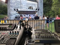 Inizio concerti, Open Air FIV, (festa in valle) a monte Carasso impianto audio e luci Digital Studio Sound...stay tuned By JaDa Solutions😉