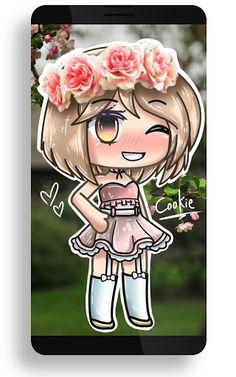 Gacha Lfe Wallpaper provides cool and interesting content that you can set as wallpaper on your Anime Girl Drawings, Kawaii Drawings, Cute Drawings, Anime Kunst, Anime Art, Neko Kawaii, Character Art, Character Design, Casa Anime