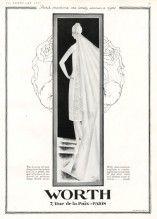 Worth 1927 Pierre Simon, Wedding Dress