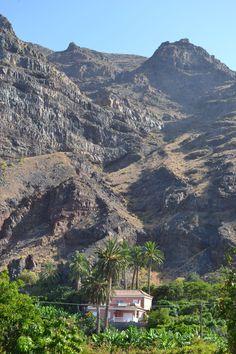 La Gomera Valle Gran Rey, canary islands