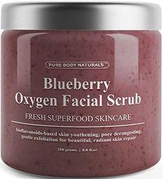 Blueberry Oxygen Facial Scrub - Loaded with Antioxidants ... http://smile.amazon.com/dp/B016EGMYUM/ref=cm_sw_r_pi_dp_m4Plxb0HHG4S5