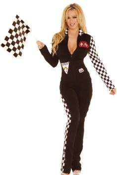 Sexy Racecar Driver Halloween Costume #Halloween #Costumes #Adults