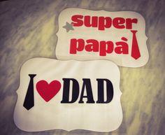 Tovagliette del papà - I love dad