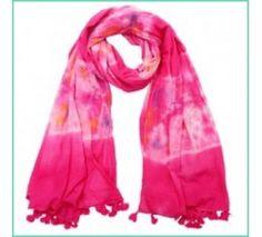 Dip dye sjaal