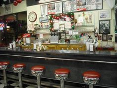 Old Soda Fountains...I grew up in a small town where these did exist!