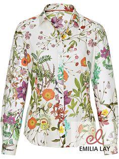 Blumen Bluse von Peter Hahn #flower power #blumenprint #blumenpracht