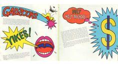 Tadanori Yokoo, artwork for Mazda Cosmo sales brochure, 1968....