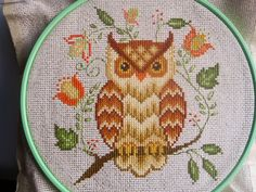 Calico's Whimsy: Two Owl Cross Stitch projects