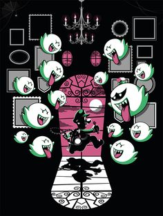 Luigi Mansion - Guillaume Morellec