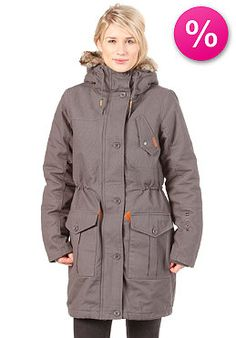BENCH Womens Huyton Jacket dark shadow