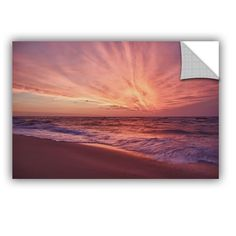Outer Banks Sunset Iii by Dan Wilson Art Appeelz Removable Wall Mural