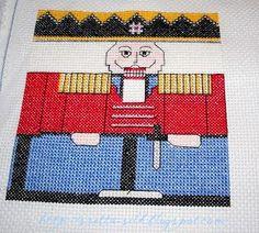 Cross Stitch Christmas Ornaments, Christmas Embroidery, Christmas Cross, Cross Stitch Charts, Loom Knitting, Cross Stitching, Blackwork, Needlepoint, Needlework