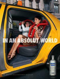28 Excelentes ejemplos de publicidad de Vodka Absolut