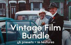 Stiahnite si set presetov sefektom vintage filmu