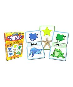 Look what I found on #zulily! Shapes & Colors Slide & Learn Flashcard Set #zulilyfinds