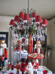 YOU ARE INVITED TO   A   NUTCRACKER SWEETS   PARTY         Come into my dining room  and have a sweet   treat with a part of my collectio...