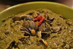 Patè di cavolo nero e semi di zucca