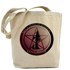 Get a taste of religion, lick a Witch Tote Bag. $15.59