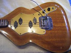 Very strange one-off 1970s Fender Guitar(?)