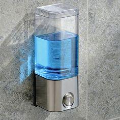 WALL MOUNT SHAMPOO DISPENSER | Get Organized  #organizer #bathroom #bathroomorganizer