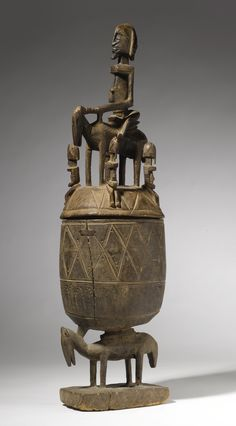 Africa | Dogon Bombou-Toro Ritual Vessel, Mali. c. prior to 1967. | Vessels like this one were used to hold food consumed during the investment rituals of Dogon religious and political leaders known as hogon.
