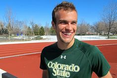 College runner comes out as gay by writing '#BeTrue' on his spikes - Outsports