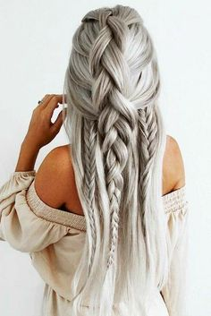 Braids are beautiful and they are one of the best ways to dress your hair. Making braids does not take much effort nor much time, yet hair braids are very stylish and attractive. There are many ways to braid your hair, thus, in this post, we have selected Wedding Hairstyles For Long Hair, Cute Hairstyles, Hairstyle Ideas, Latest Hairstyles, Hairstyles 2018, Hot Haircuts, Popular Haircuts, Everyday Hairstyles, African Hairstyles
