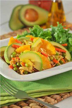 Check out our recipe for tropical avocado salad, made with delicious Avocados from Mexico! Salad Bar, Soup And Salad, Avocado Recipes, Salad Recipes, Avocados From Mexico, Summertime Salads, Mango Fruit, Heart Healthy Recipes, Avocado Salad