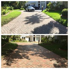 Don't want to spend the whole weekend cleaning your driveway , patio or roof.We gotcha covered! Call or text A&D Pressure Washing at 954 980 0454 !!!