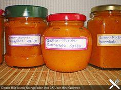 Quitten - Kürbis - Marmelade, ein sehr schönes Rezept aus der Kategorie Herbst. Bewertungen: 16. Durchschnitt: Ø 4,3.