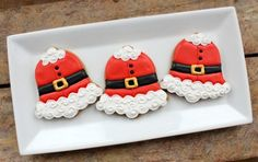 Santa Cookies! 15 Santa Claus Cookies Your Kids Will Love