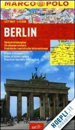 #Berlino pianta della citta' marco polo 2013  ad Euro 6.50 in #Viaggi guide e cartine #Edt