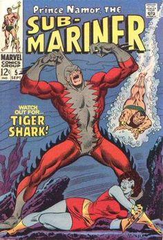 Sub-Mariner Marvel Silver Age Comics Marvel Comics, Hq Marvel, Old Comics, Marvel Comic Books, Vintage Comics, Comic Books Art, Comic Art, Marvel Villains, Marvel Series