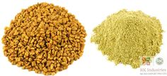 •India, Afghanistan and Pakistan are the biggest producers of fenugreek in the world. Within India Rajasthan accounts for its largest cropped area and production. We deliver the finest quality of Fenugreek (Leaves, Seeds & Powder) all across the world. For more information DM or mail us at exim@rkindustriesgroup.com