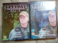 Stargate SG1 Collection 53 54 New DVD