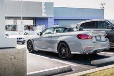 Poised to pounce. Bmw For Sale, Bmw Dealership, Bmw Love, Certified Pre Owned, Bmw M4, Bmw Cars, Used Cars, St Louis, Convertible