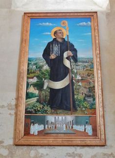Saint Robert of Molesme 1028 17 April 1111 was an abbot one of the founders of the Cistercian Order and is honored as a Christian saint Robert of molesm Saint Robert, Saints, Christian, Painting, Art, Image, Art Background, Painting Art, Kunst