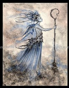 """""""Sidhe Queen"""" by Amy Brown"""