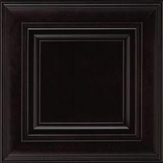 Shenandoah Mckinley 14.5625-In X 14.5-In Espresso Maple Raised Panel Cabinet Sample