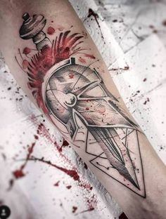 Tattoos are more common these days than they have ever been in the past. As we all know, tattoos are decorative markings in the skin, such as symbols, signs, and letters that are applied by puncturing the outer layer of the skin and Tattoos 3d, Bild Tattoos, Unique Tattoos, Body Art Tattoos, Tattoos For Guys, Sleeve Tattoos, Tattos, Molon Labe Tattoo, Sparta Tattoo