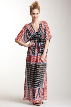 Print Kaftan Dress by Eight Sixty